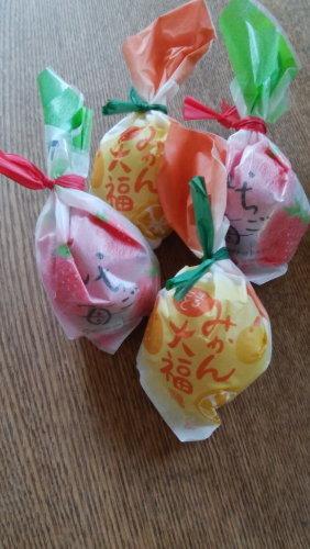 苺大福とみかん大福_b0254207_21095785.jpg