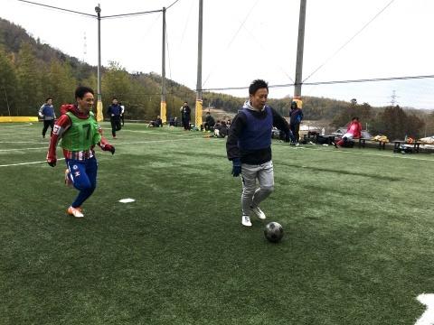 ゆるUNO 2/17(日) at UNOフットボールファーム_a0059812_17521849.jpg