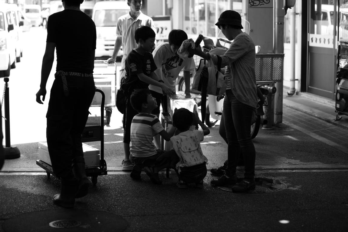 「夏」が好きな人~金沢近江町市場にて~_d0349418_20484903.jpg