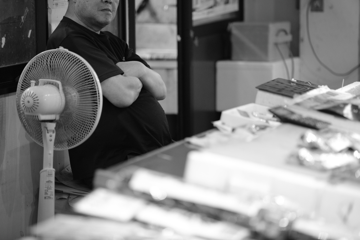 「夏」が好きな人~金沢近江町市場にて~_d0349418_20510988.jpg
