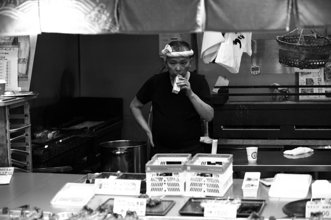 「夏」が好きな人~金沢近江町市場にて~_d0349418_20545582.jpg