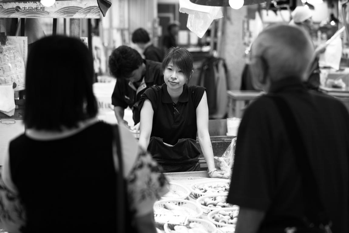 「夏」が好きな人~金沢近江町市場にて~_d0349418_20570722.jpg
