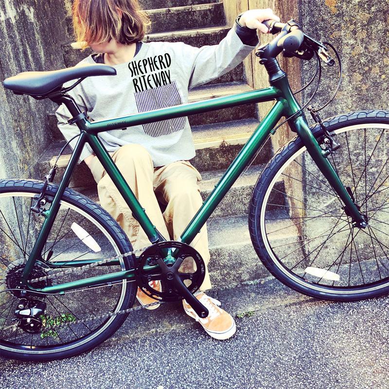 RITEWAY 『 SHEPHERD 』ライトウェイ シェファード パスチャー スタイルズ シェファードシティ クロスバイク 自転車女子 おしゃれ自転車 自転車ガール_b0212032_16295387.jpeg