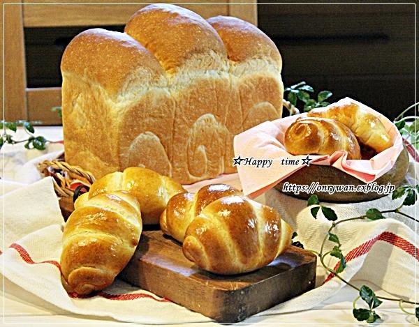 じゃがいもコロッケ弁当とパン焼き・2種類♪_f0348032_17444845.jpg