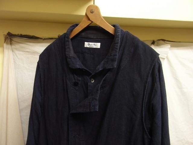 たまんね~なぁ / french victorians heavylinen shirt , da frenchwork heavylinen vest_e0130546_17034963.jpg