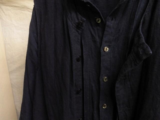 たまんね~なぁ / french victorians heavylinen shirt , da frenchwork heavylinen vest_e0130546_17040490.jpg
