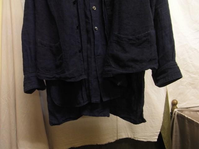 たまんね~なぁ / french victorians heavylinen shirt , da frenchwork heavylinen vest_e0130546_17041584.jpg