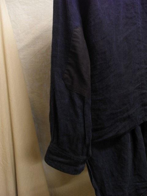 たまんね~なぁ / french victorians heavylinen shirt , da frenchwork heavylinen vest_e0130546_17044565.jpg
