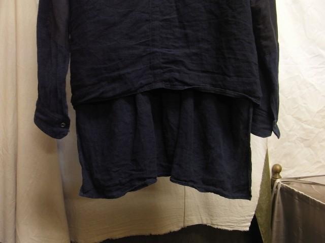 たまんね~なぁ / french victorians heavylinen shirt , da frenchwork heavylinen vest_e0130546_17045735.jpg