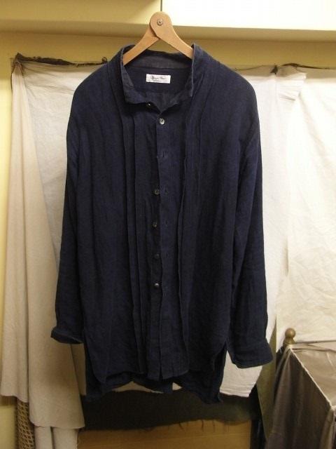 たまんね~なぁ / french victorians heavylinen shirt , da frenchwork heavylinen vest_e0130546_17051176.jpg