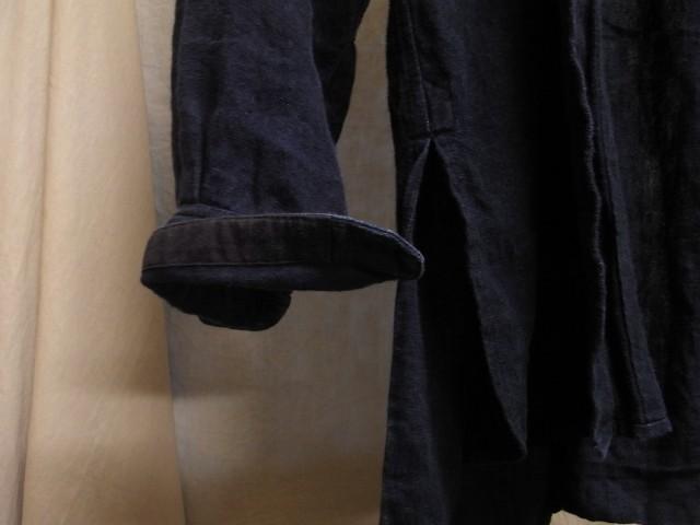 たまんね~なぁ / french victorians heavylinen shirt , da frenchwork heavylinen vest_e0130546_17052345.jpg