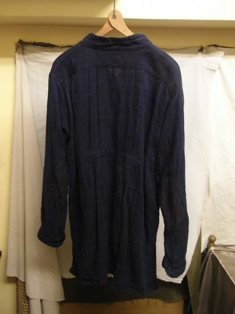 たまんね~なぁ / french victorians heavylinen shirt , da frenchwork heavylinen vest_e0130546_17053485.jpg