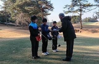 第28回 梶岡建設ジュニアゴルフ月例競技会_f0151251_19262280.jpg