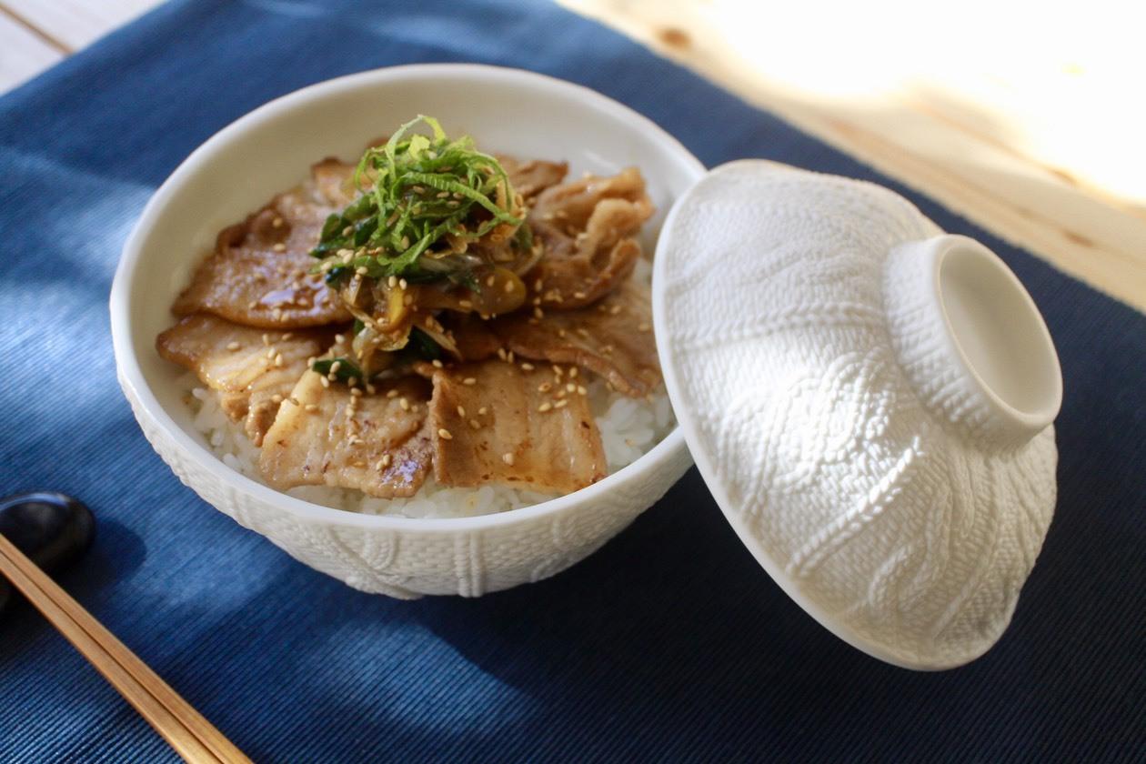 大葉たっぷり豚バラネギ丼_f0220354_08085601.jpeg