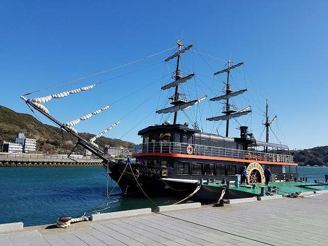 下田で黒船に乗船!_c0184265_19463517.jpg