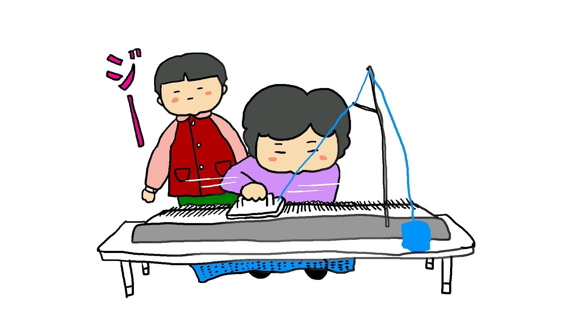 編み機って見たことある?_d0129083_01124454.jpg