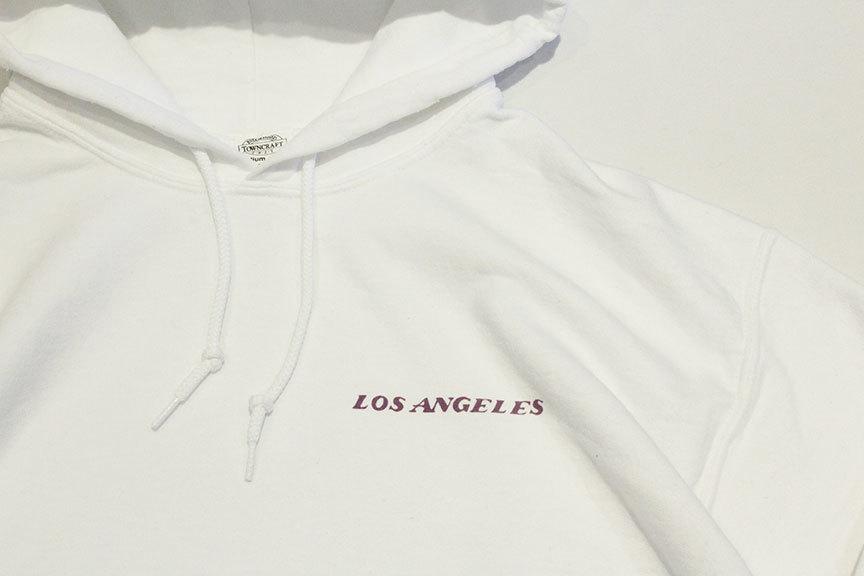 """TOWN CRAFT (タウンクラフト) \"""" Los Angeles 80\'s Hoody Sweat \""""_b0122806_12322039.jpg"""