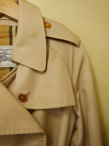 Burberry vintage trench small_f0144612_10264007.jpg