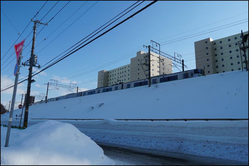 この雪の景色 見納です(新さっぽろ再開発)_b0019313_16060207.jpg