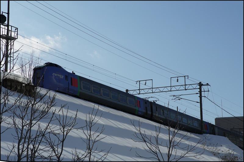 この雪の景色 見納です(新さっぽろ再開発)_b0019313_16074944.jpg