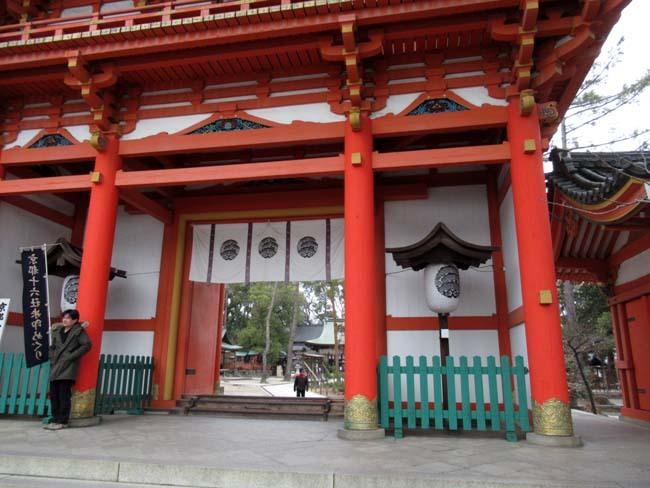 大徳寺と今宮神社 梅花咲き始め_e0048413_21051341.jpg