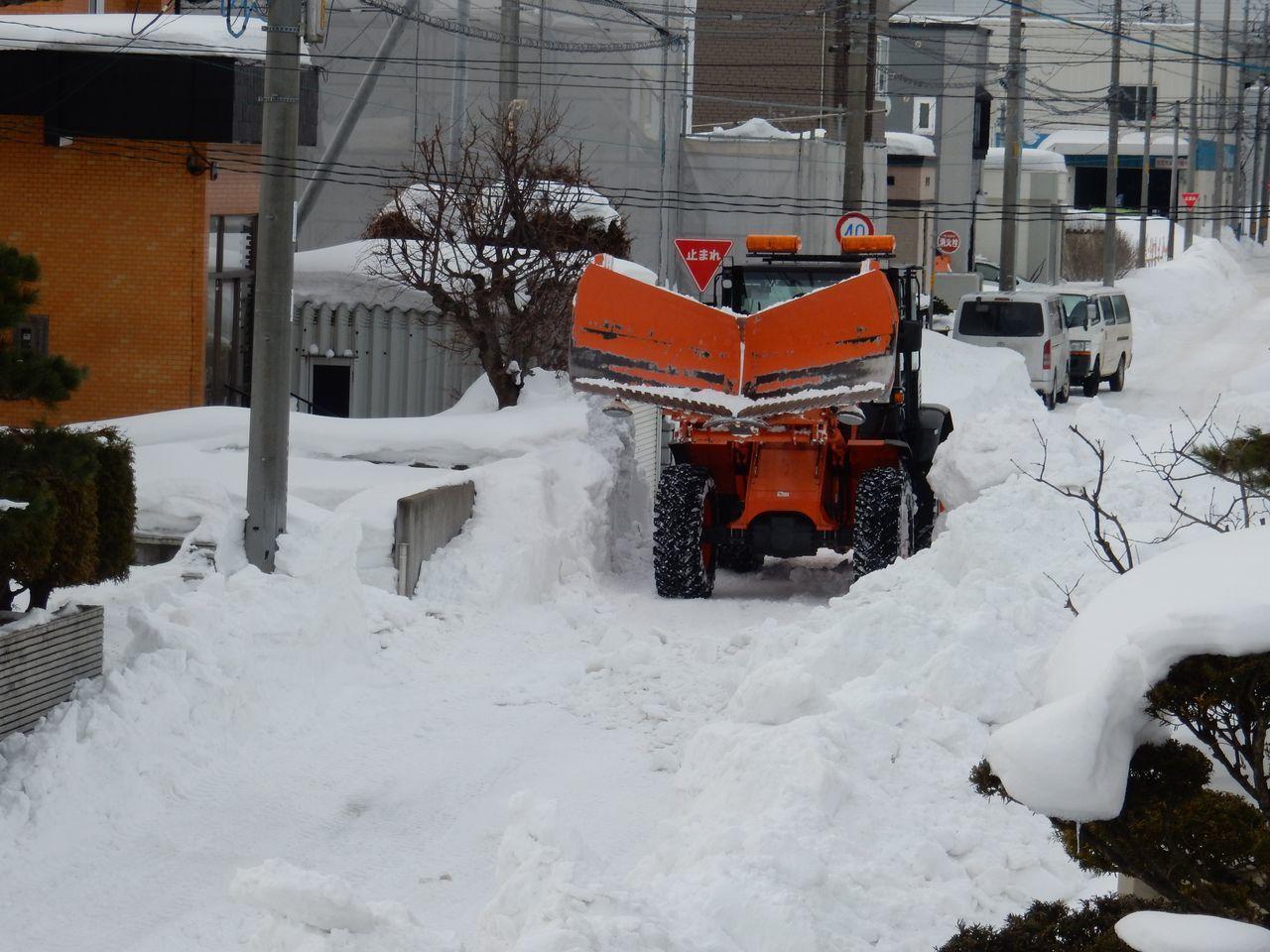 ようやく排雪チューズデー_c0025115_21565677.jpg