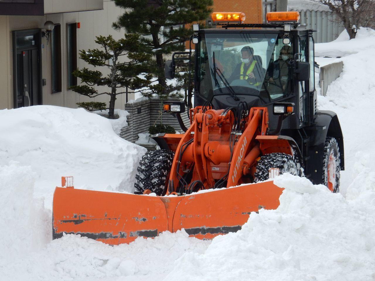 ようやく排雪チューズデー_c0025115_21570797.jpg