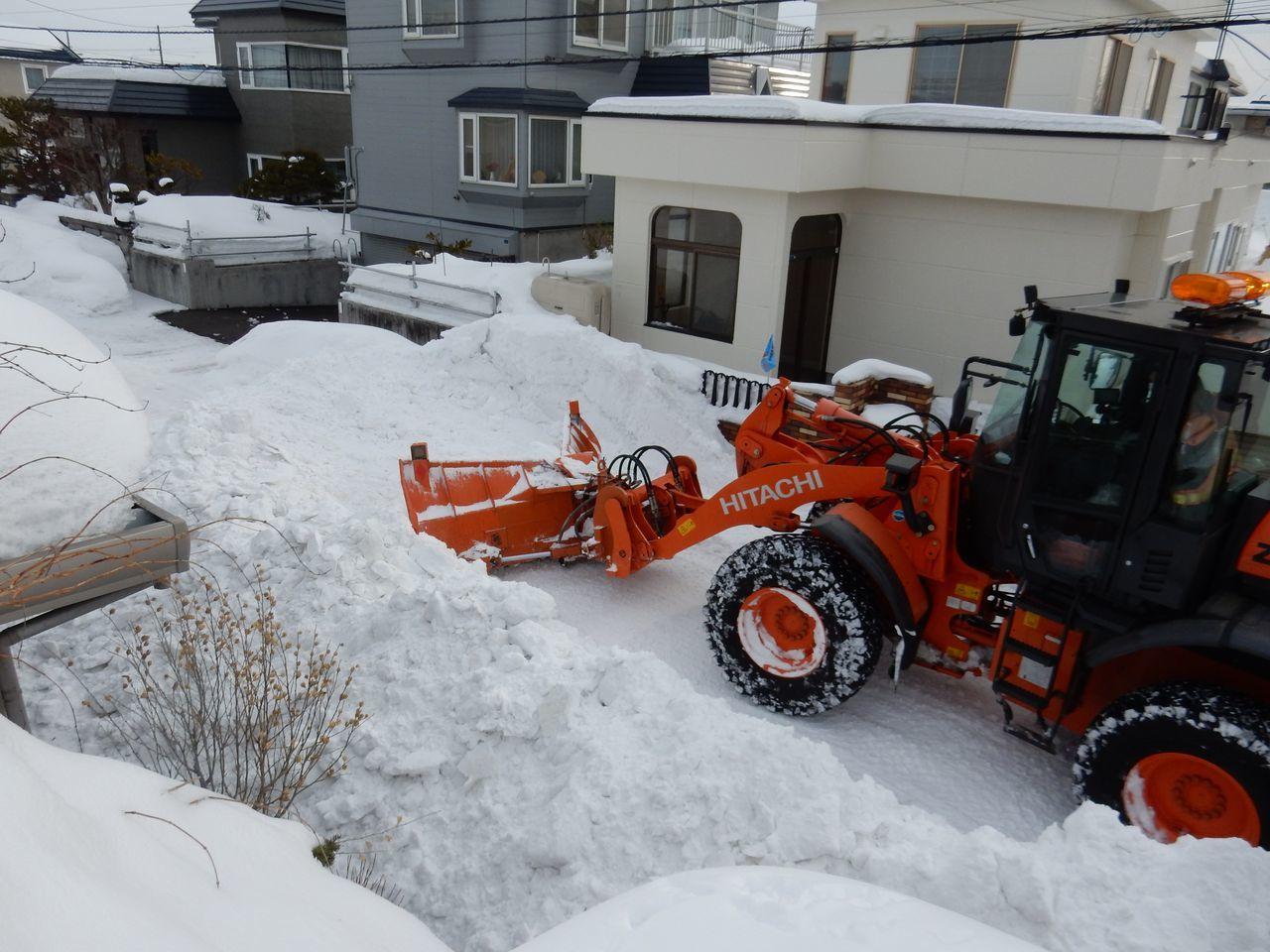 ようやく排雪チューズデー_c0025115_21575618.jpg