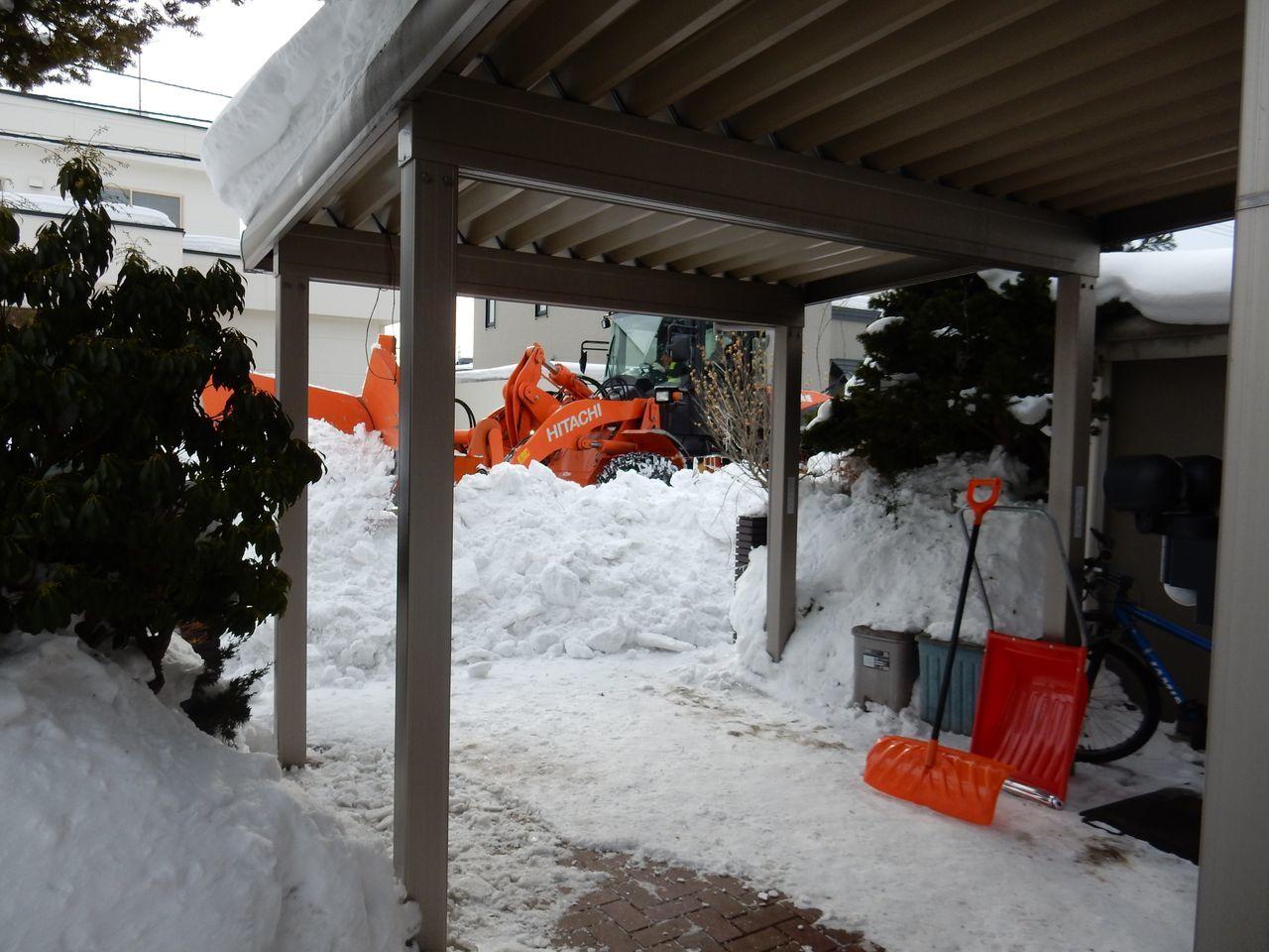 ようやく排雪チューズデー_c0025115_21580765.jpg