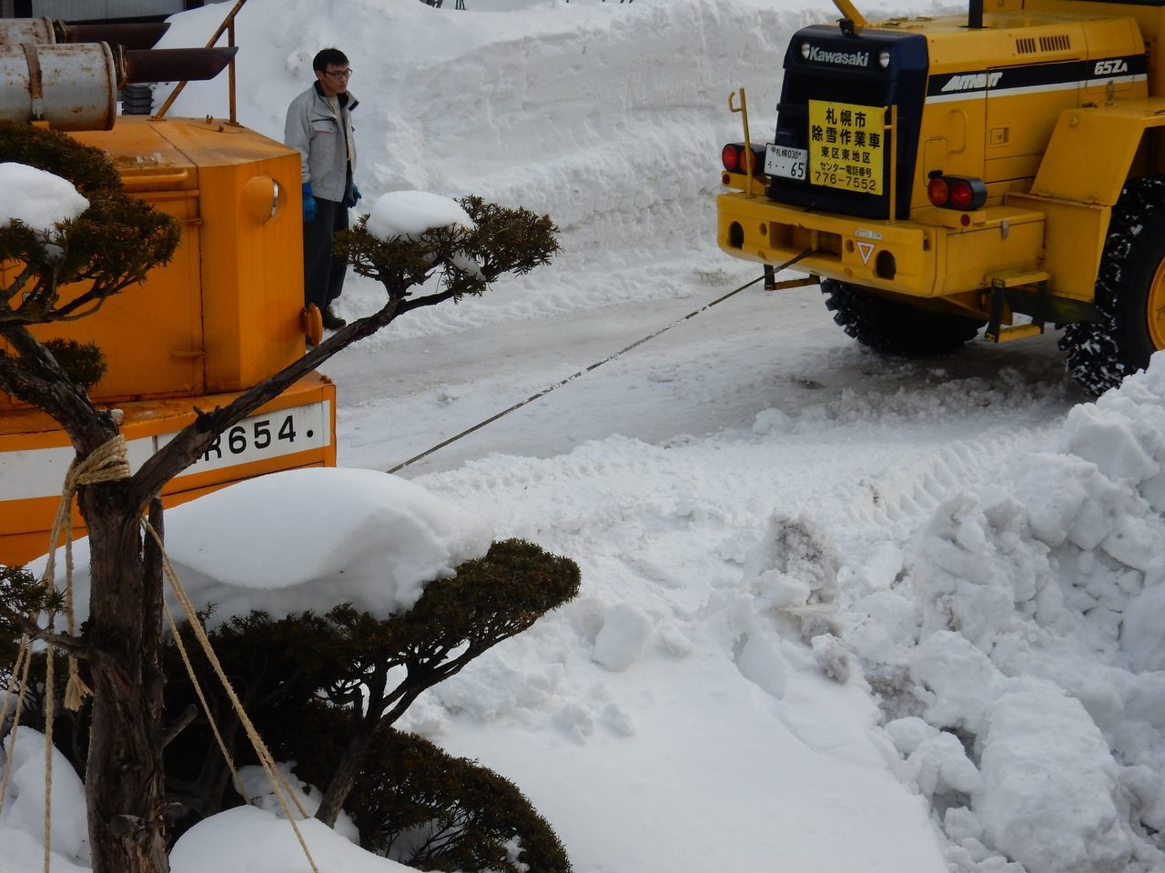 ようやく排雪チューズデー_c0025115_22064830.jpg