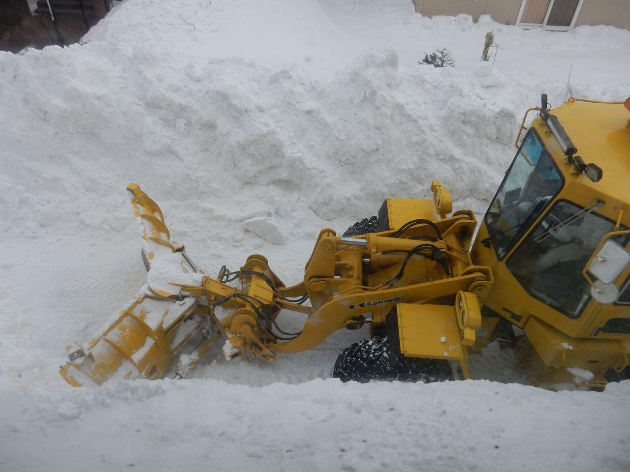 ようやく排雪チューズデー_c0025115_22111712.jpg
