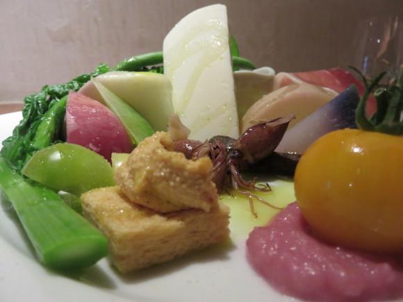 春野菜の苦味には、北の白がイイなぁ ♫_d0212522_20435803.jpg