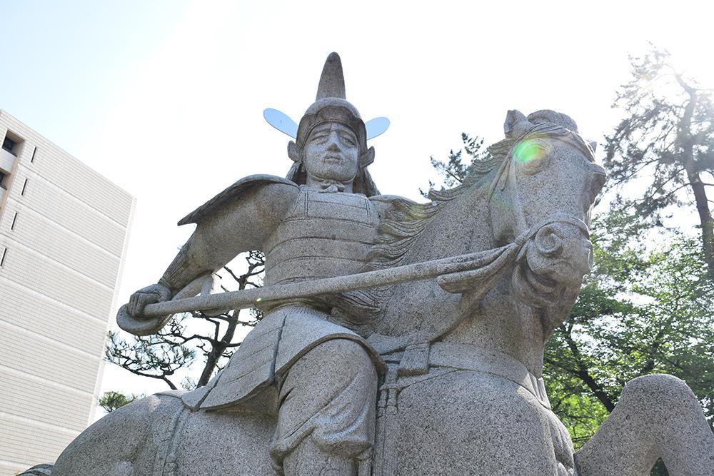 越前松平家の福井城跡を歩く。 その2 ~結城秀康~_e0158128_17322024.jpg