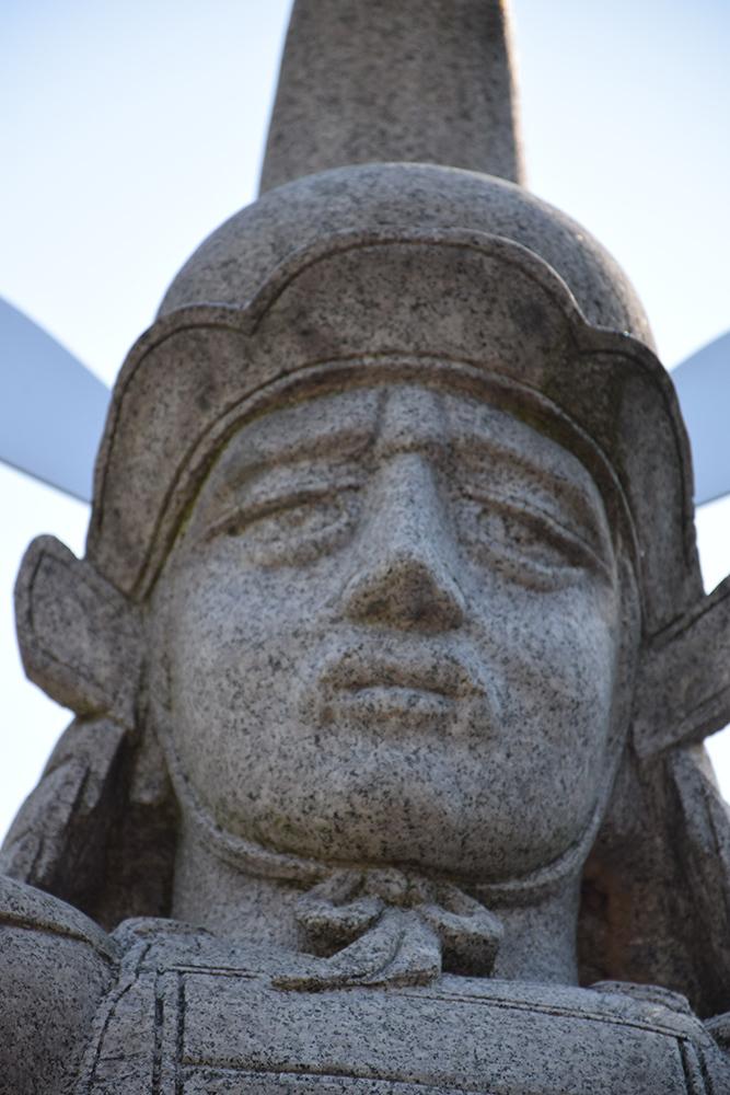 越前松平家の福井城跡を歩く。 その2 ~結城秀康~_e0158128_17322362.jpg