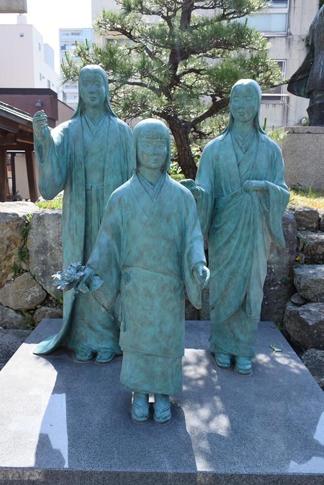 越前北ノ庄城跡・柴田神社を訪ねて。_e0158128_19083615.jpg