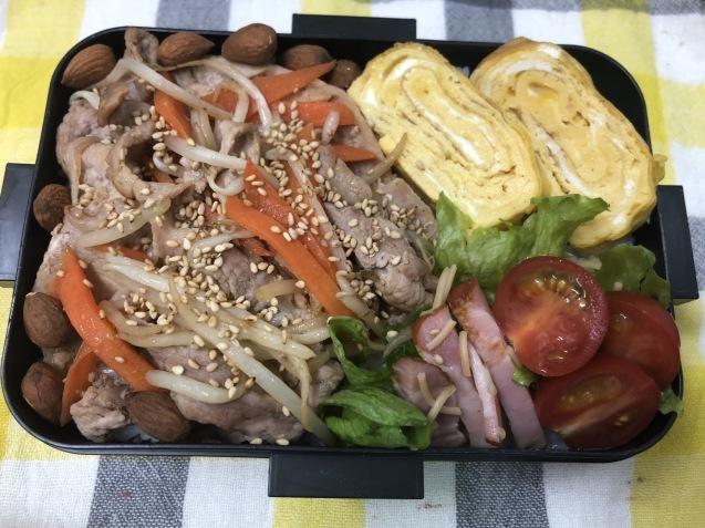 肉野菜炒め弁当_b0371149_07154966.jpeg