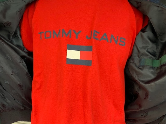 TOMMY JEANS BLACK WATCH SWING TOP!!!_a0221253_15140717.jpg