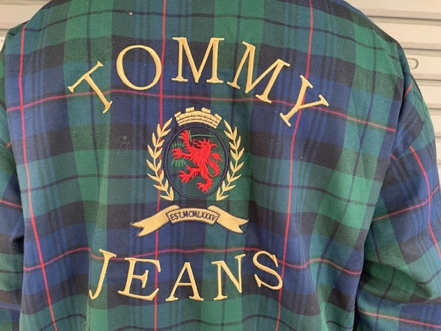 TOMMY JEANS BLACK WATCH SWING TOP!!!_a0221253_15142520.jpg
