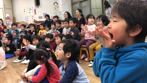 曲芸師天野耕太さん来園_f0324461_21522071.jpg