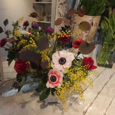 オークリーフ花の教室(山田さんの作品)_f0049672_16002702.jpg