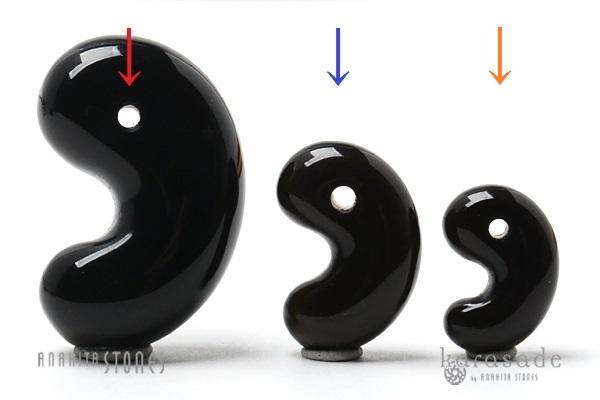 (新作!)天然黒水晶 勾玉(中国山東省産)_d0303974_11075383.jpg