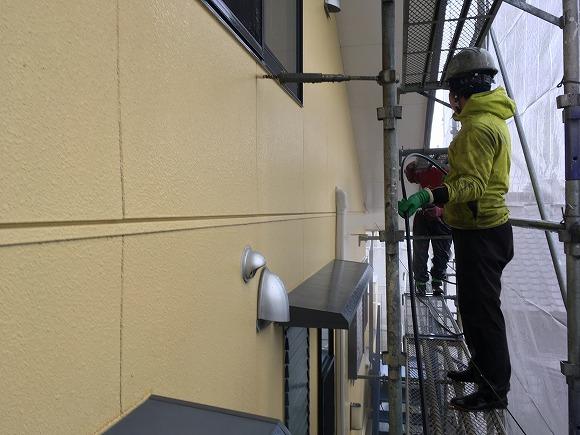 静波の 『内藤新聞店』 さんの外壁塗替えリフォーム ★塗装工事_d0205883_13443304.jpg