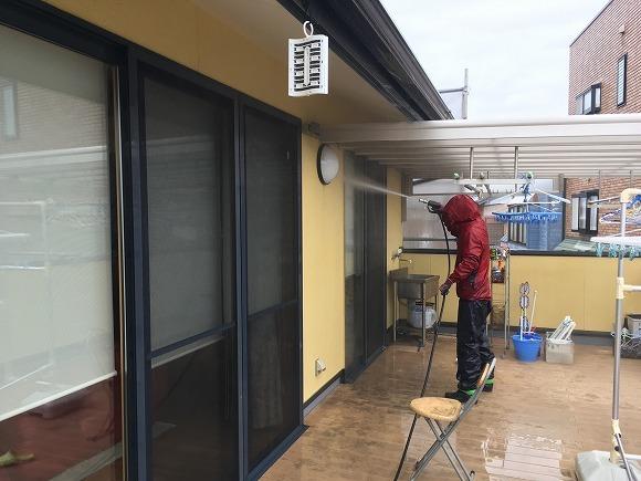 静波の 『内藤新聞店』 さんの外壁塗替えリフォーム ★塗装工事_d0205883_13444015.jpg