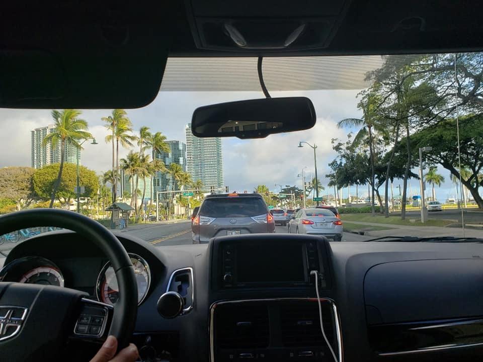 ハワイ島コナ空港から第2次キャンプ地、オアフ島ホノルル国際空港に移動!_c0186691_13494013.jpg