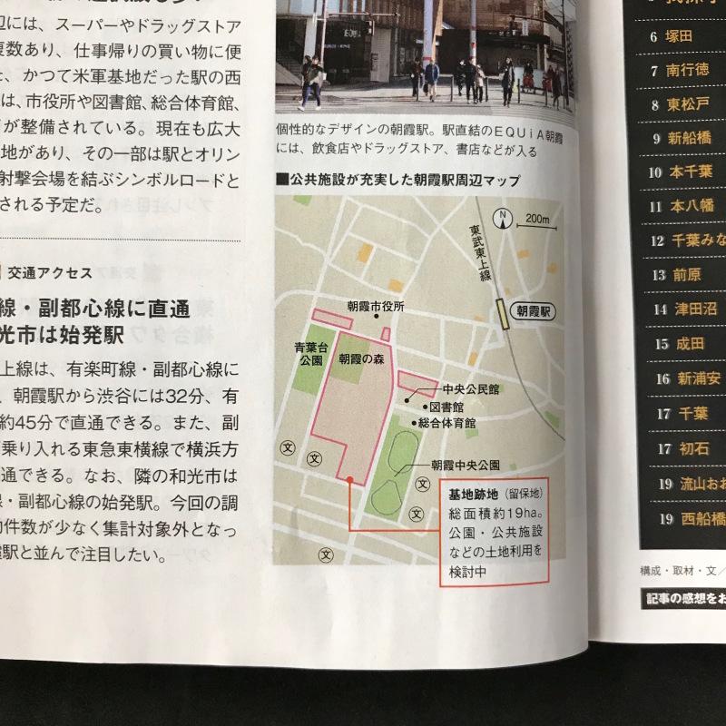 [WORKS]SUUMO新築マンション首都圏版 首都圏の街 資産価値BEST100_c0141005_09480315.jpg