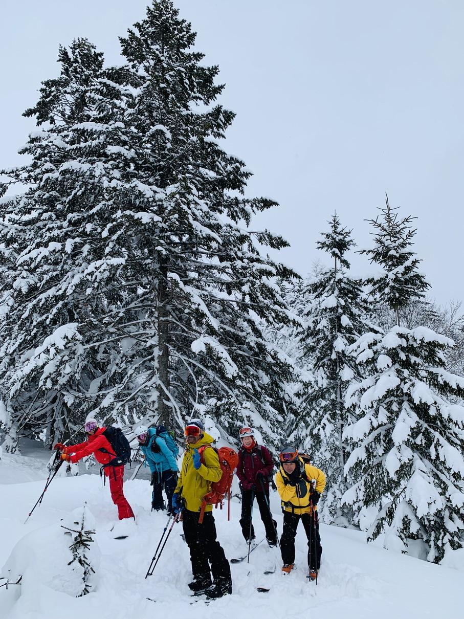 """2019年2月『雪山は呼ぶよ』 February 2019 \""""Hokkaido, Powder Snow Paradice\""""_c0219616_22533133.jpg"""