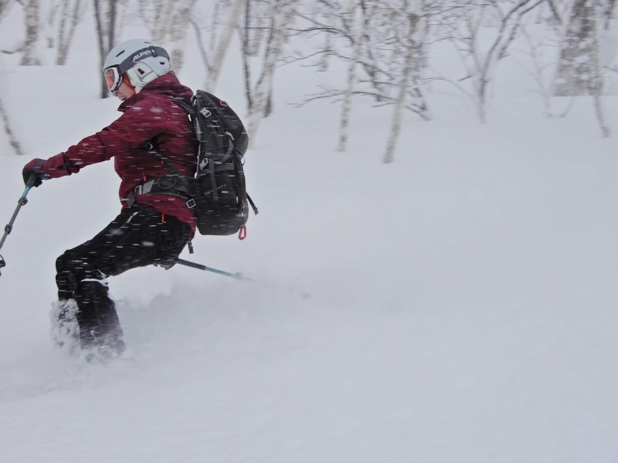 """2019年2月『雪山は呼ぶよ』 February 2019 \""""Hokkaido, Powder Snow Paradice\""""_c0219616_22533189.jpg"""