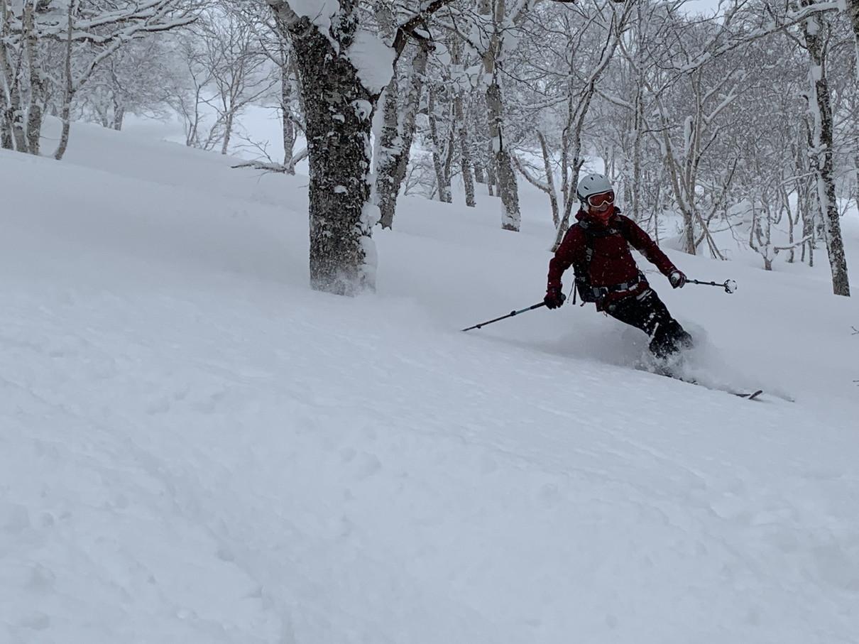 """2019年2月『雪山は呼ぶよ』 February 2019 \""""Hokkaido, Powder Snow Paradice\""""_c0219616_22533207.jpg"""