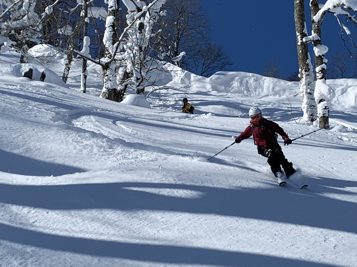 """2019年2月『雪山は呼ぶよ』 February 2019 \""""Hokkaido, Powder Snow Paradice\""""_c0219616_22561706.jpg"""