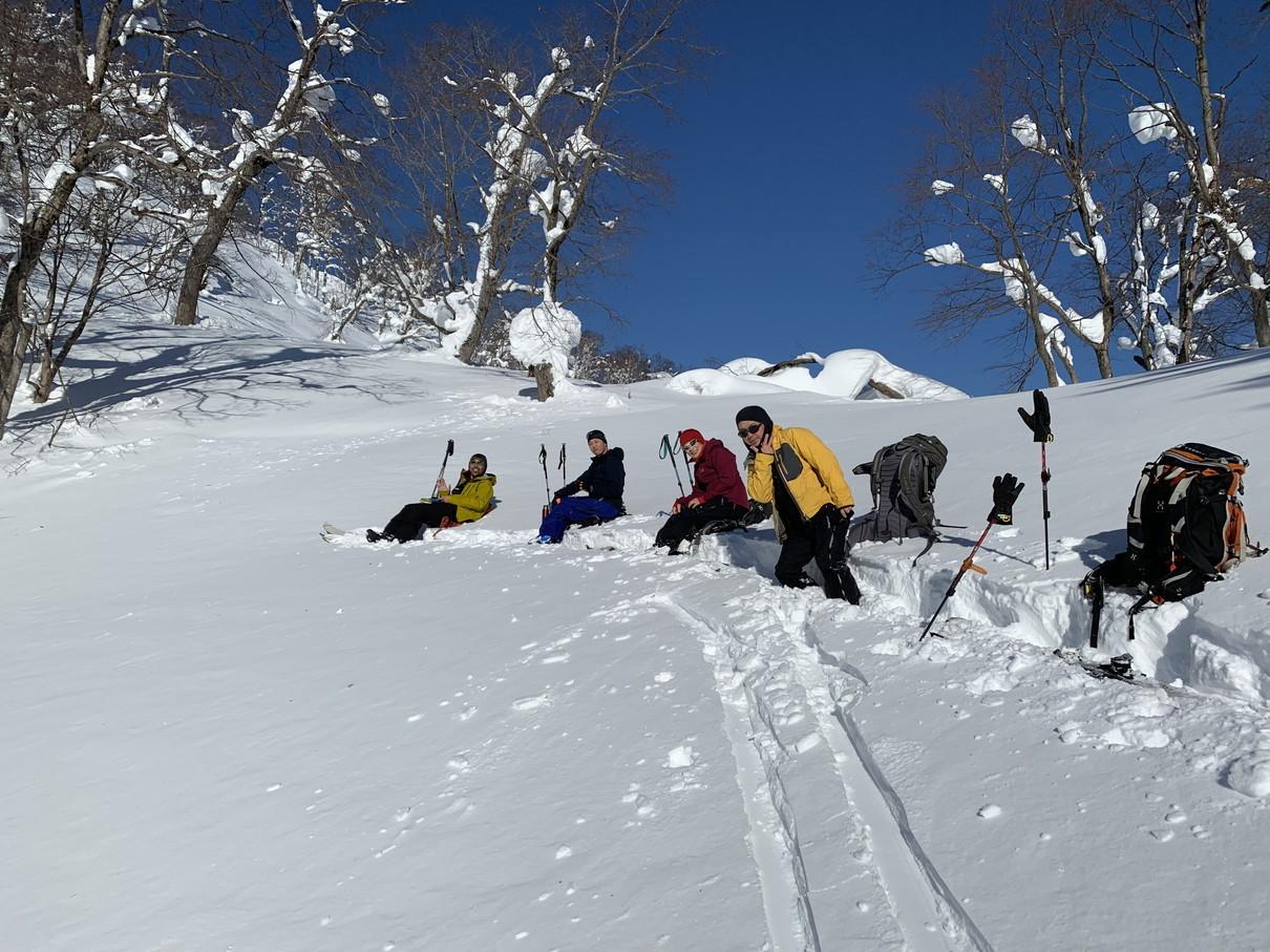 """2019年2月『雪山は呼ぶよ』 February 2019 \""""Hokkaido, Powder Snow Paradice\""""_c0219616_22561739.jpg"""